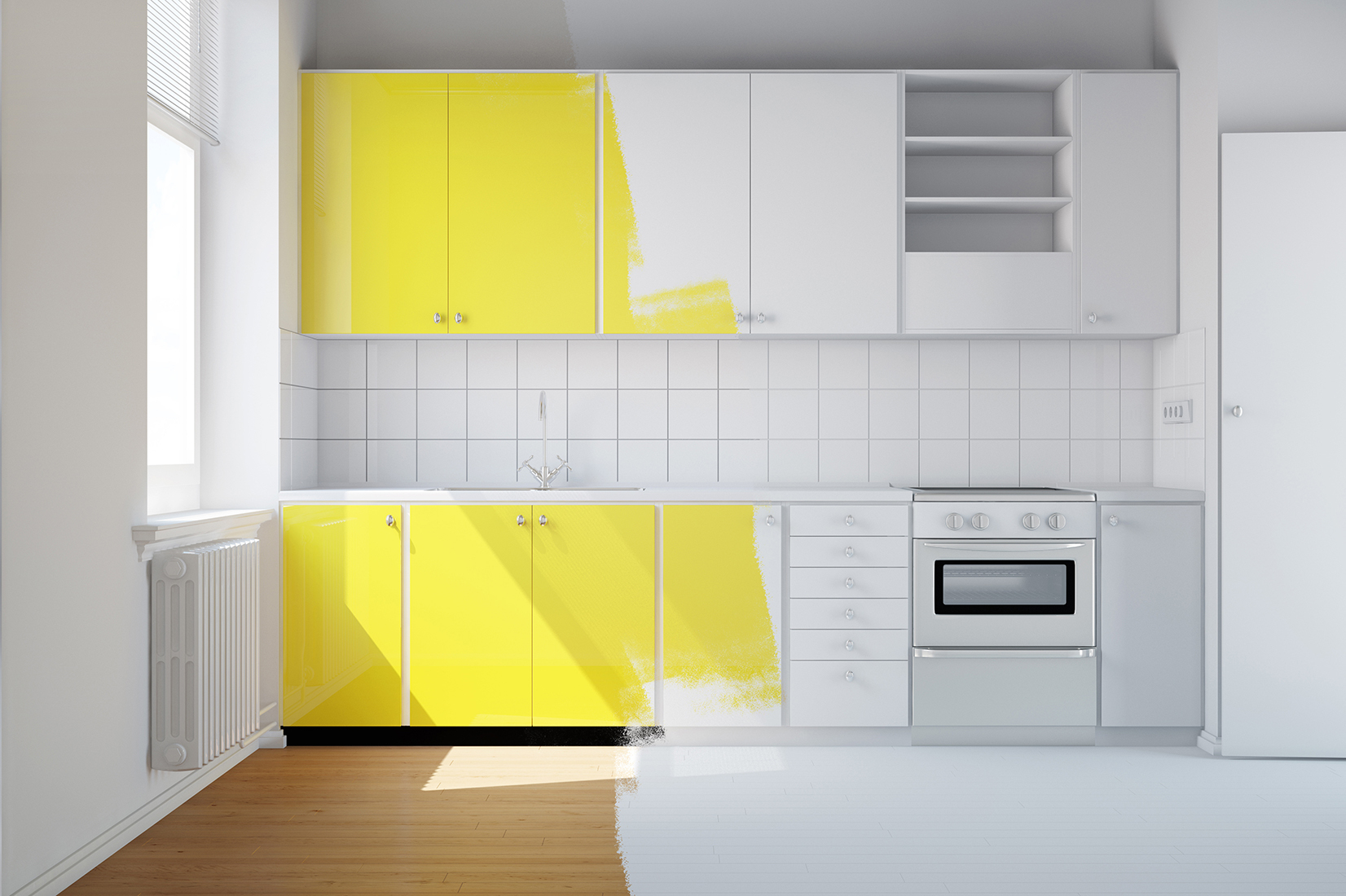 K2 Painting Cabinets